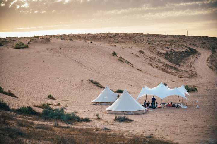 Desert Adventure Glamping (for 5-6 guest max)