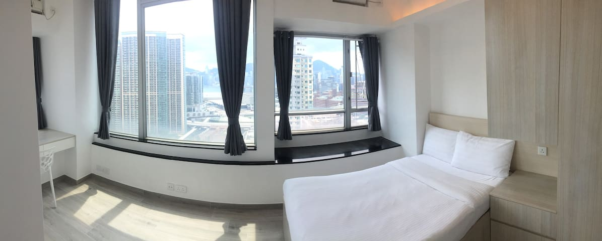2-bedroom near Ho Man Tin MTR Check out 1pm