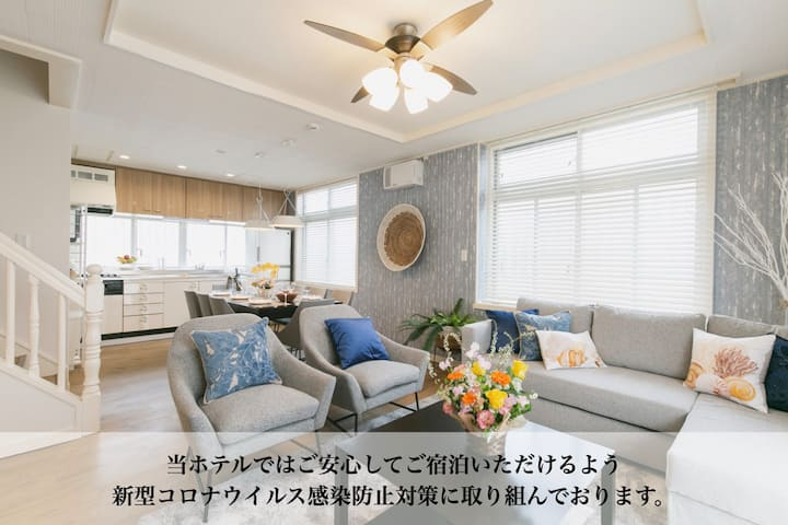 Limited time price!Sea view *SUNSET BREEZE Chatan*
