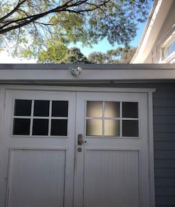 Bright outdoor sensor light