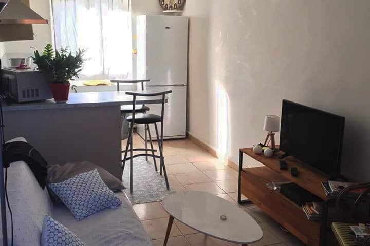 petit appartement  au cœur de la ville de Nimes