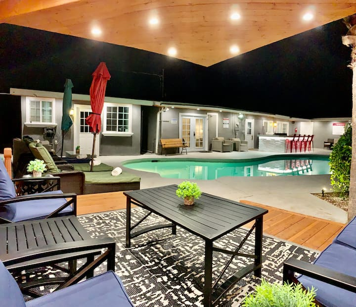 Awesome 3-Unit House w/Heated Pool