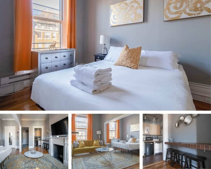Beautifully Styled Back Bay Studio! (D7)