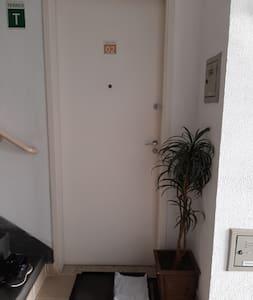 Apartamento  Térreo, não tem escadas