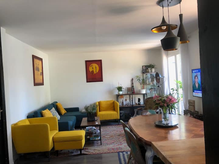 Chambre dans maison individuelle en fond d'impasse