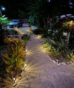 Iluminación de la entrada
