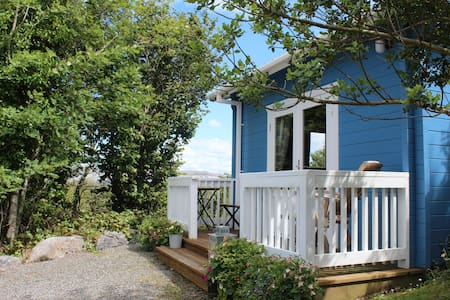 The Chalet on the Hill with views of Galway Bay