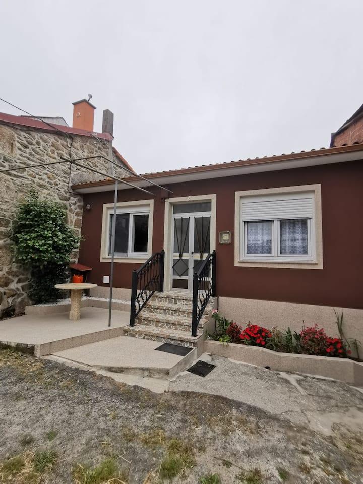 Una casa de aldea en Vimianzo  A Coruña (5 Pax)