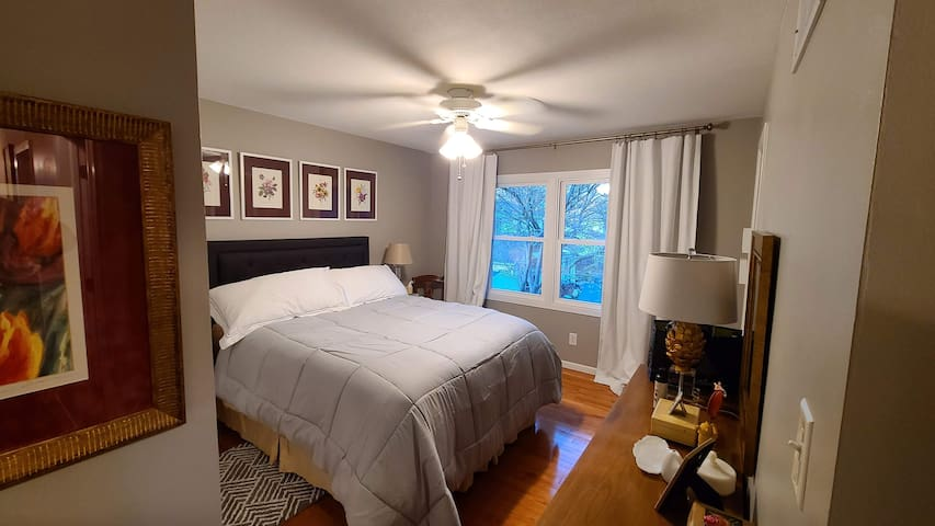 Master Bedroom with attached private full bathroom