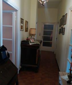 Corridoio principale, zona condivisa per tutte le stanze.