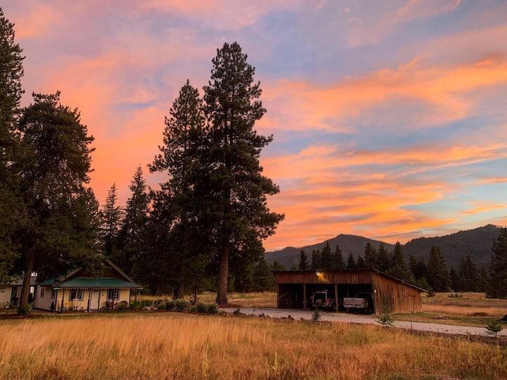 Quiet cabin, nature, wildlife, privacy, ammenities