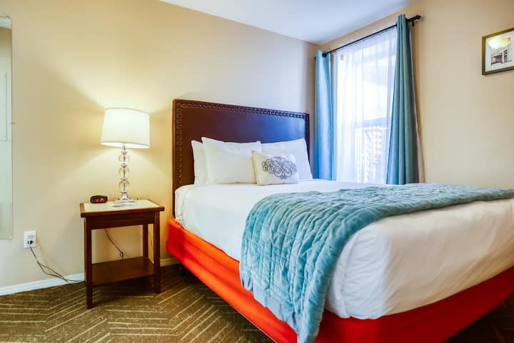 One bedroom suite at Inn at the Prom