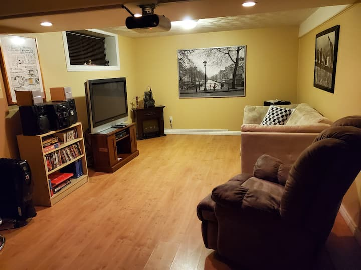 Appartement tout inclus dans une maison privée.