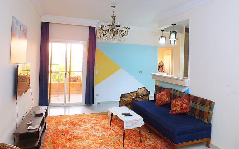 Cozy Apartment two Bedrooms at Sheikh zayed city
