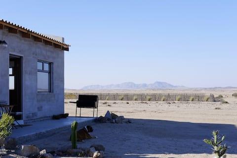 La cabaña del desierto