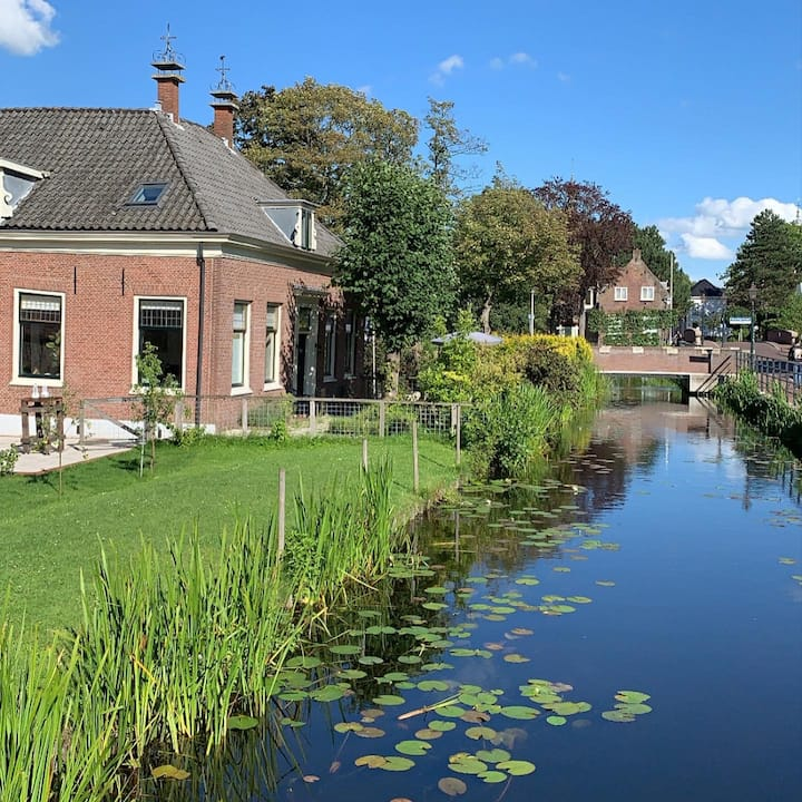 Authentic farm house in old village of Zoetermeer