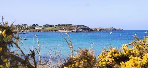 Maison de Vacances à 300m des plages,et du GR 34