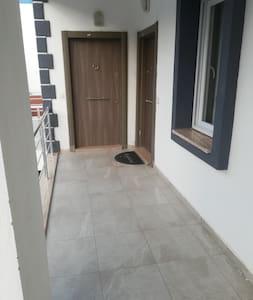 Stufenloser Zugang zum Eingang