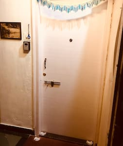 Main door entrance without any hindrance.