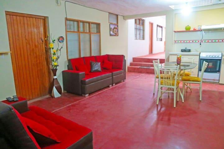 Muebles para descansar y cocina