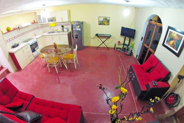La Casa de Grau: confortable, fresca y segura!