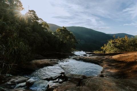 Cachoeira Bicudo / Cabana Brasileirinha