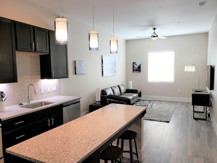 Modern, Fully Furnished One-Bedroom Unit 209