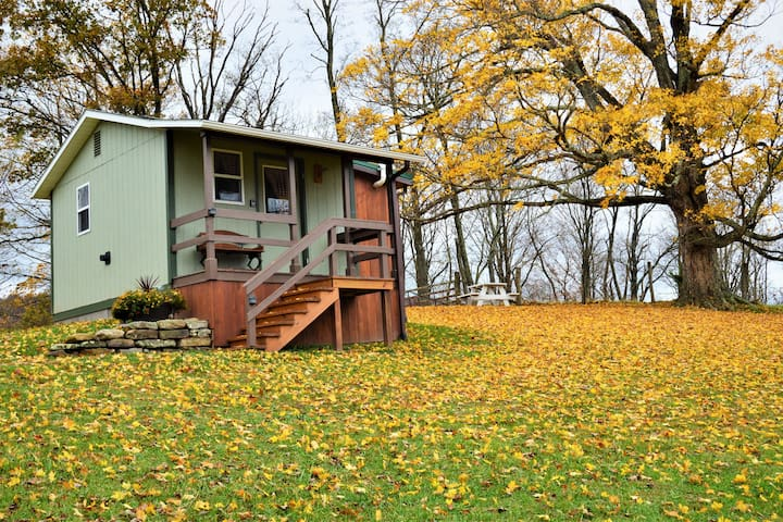 Glamping at its Best, Off-Grid Tiny House Comfort!