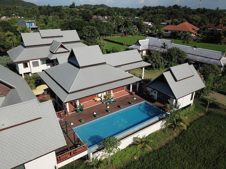 Unique Luxury Pool Villa w/ Breakfast Included
