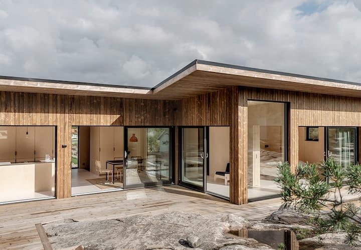 Nybyggt hus  i Grebbestad med 10 min till havet
