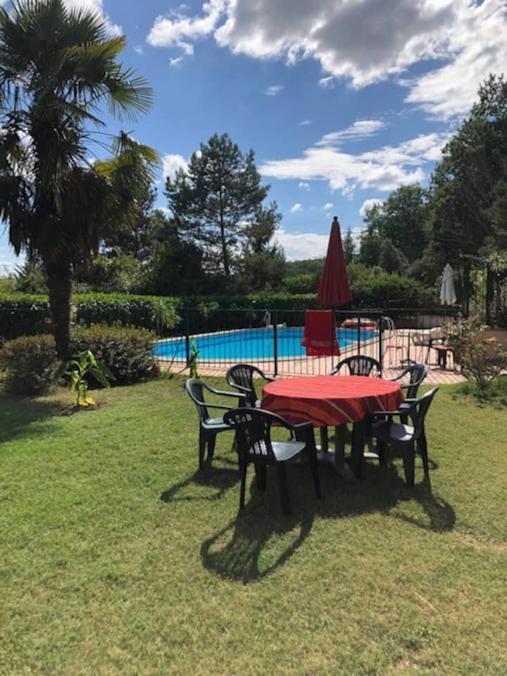 Villa with swimming-pool, 24/O7-21/08/2021, 6 pers