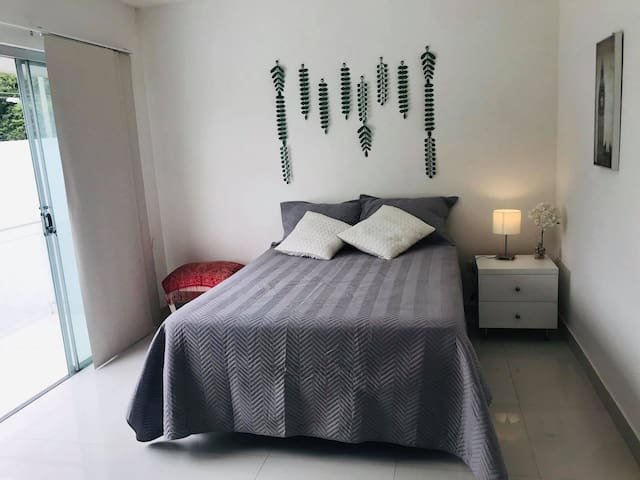Private bedroom in family house