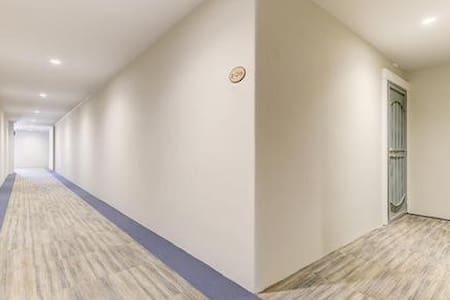 Newly remodeled hallways throughout complex.
