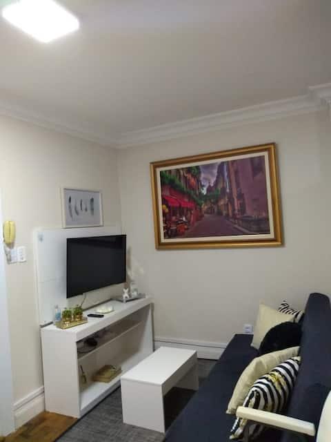 Apartamento bem localizado no centro e da praia