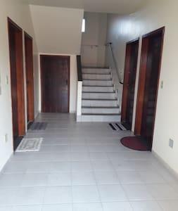 entrada para o apartamento