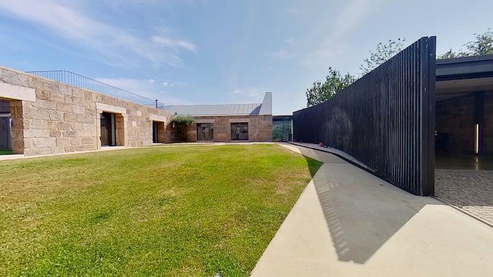 Quinta do Sol: vivenda com jardim e terraço