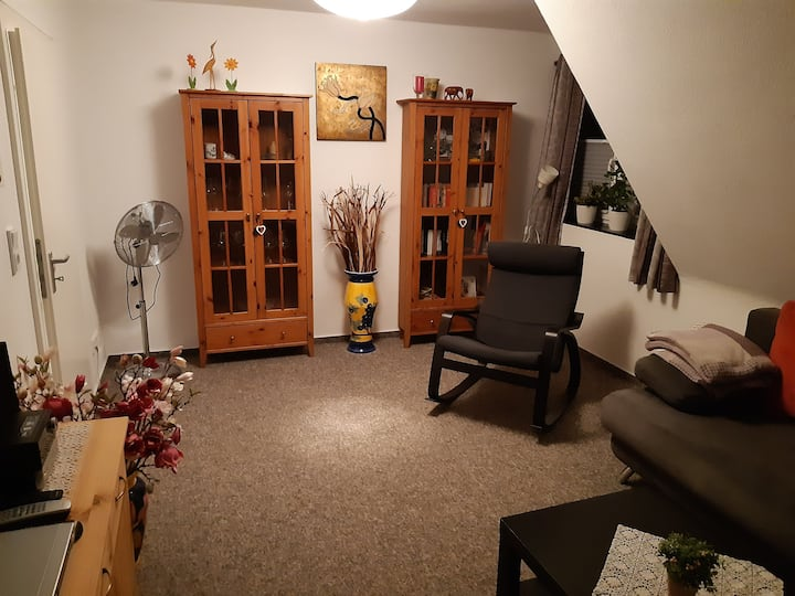 Gemütliche zwei Zimmerwohnung für Gäste
