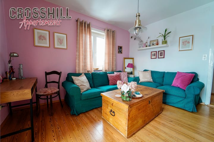 CROSSHILL Appartement | Charmante & helle Wohnung