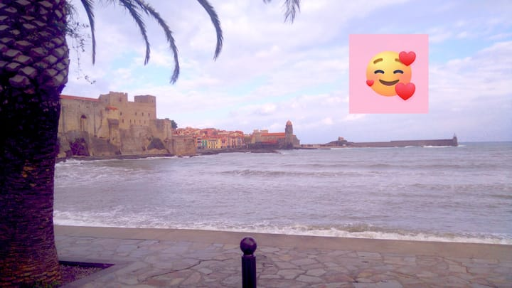 Wintry short stay in Collioure