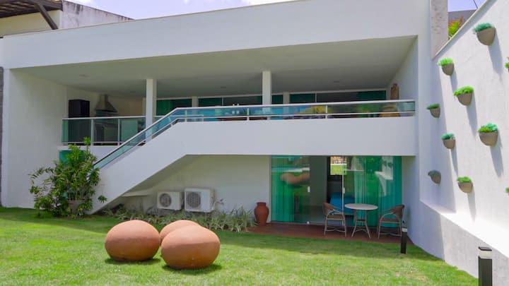PRAIA DE TOQUINHO - Linda Casa Beira Mar