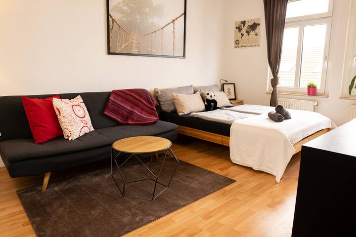 Leipzig's BEST Travelers room, NETFLIX, WiFi incl.