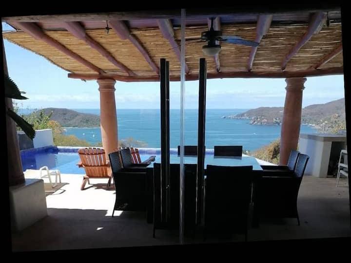 Villa Autosustentable, 2 albercas-Uso Exclusivo.