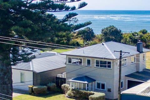 Taranaki Beach House -美麗的海景