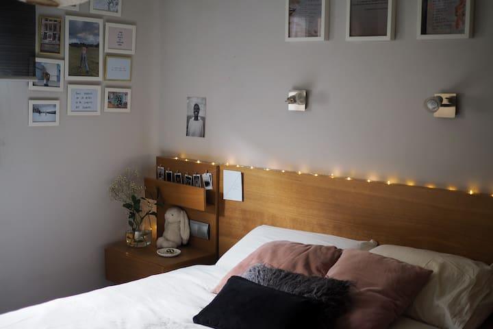 Apartamento a 15 min (metro) del corazón de Madrid