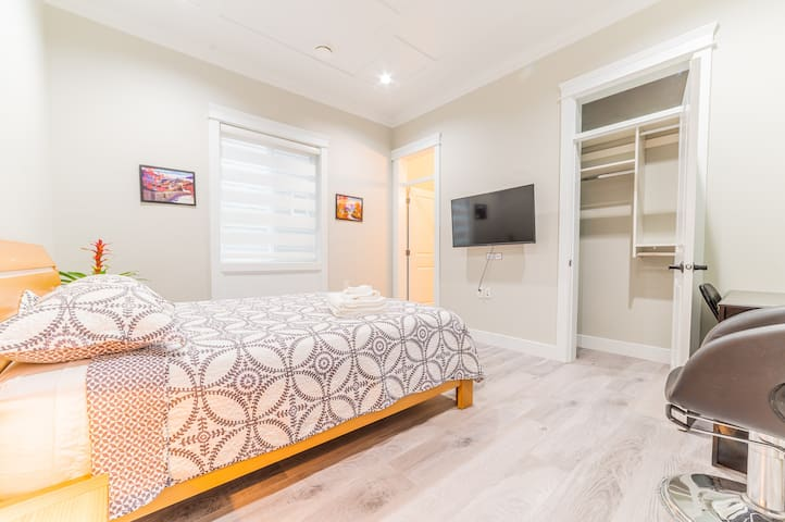 Modern brand new luxury house private cozy bedroom