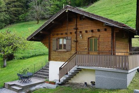 Châlet situé entre la Clusaz et lac d'Annecy