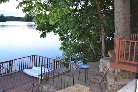 Casa de campo en el lago Paradise