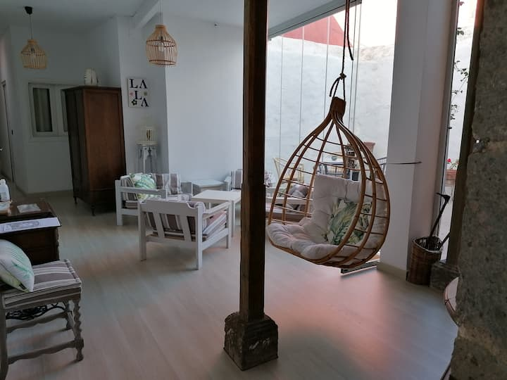 Relax in a Typical Canary House , families