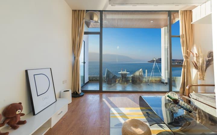 180度海景,独立阳台,120寸影院,星空吊床,品茶观海,躺床赏大理星空,含早餐