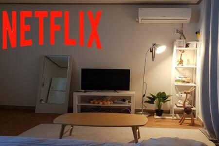 울산 동구 가성비 좋은 감성있는 인테리어 #여행#출장#파티룸#커플 !